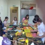 فعاليات فنون وابداع في المركز الجماهيري