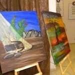 """وحدة الفنون في المركز الجماهيري أم الفحم تنظم معرض""""تراب"""" تخليدا لذكرى يوم الأرض"""