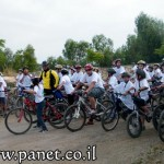 المركز الجماهيري أم الفحم يشارك في مسيرة سفراء الرياضة على الدراجات