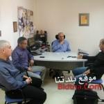 المركز الجماهيري وبلدية أم الفحم تجتمع مع مفتش الرياضة السيد لؤي بدير