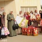 'قمم وهمم' الفحماوية تقدم الهدايا للمرضى بمستشفى شنايدر