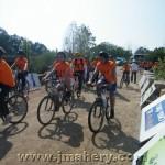 مشاركة واسعة للمركز الجماهيري في سباق الدراجات القطري