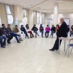 مجلس الطلاب البلدي يستمع لمحاضرة عن تاريخ ام الفحم