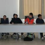 طلاب مدرسة التسامح في فعاليات أسبوع الإنترنت الآمن بالمركز الجماهيري