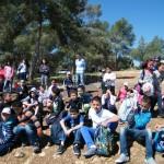 صور جديدة لطلاب مخيم الربيع 2013 في جبال الجلبوع