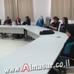 مجلس الطلاب البلدي بام الفحم يستضيف رئيس البلدية الشيخ خالد حمدان