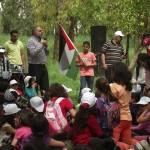 """المركز الجماهيري يُحيي فعاليات """"يوم العودة"""" في أرض اللجون"""