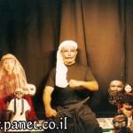 عنتر وعبلة ضيوف أم الفحم ضمن مسرحية دمى