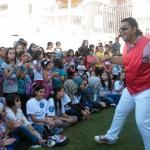 الجماهيري ينظم مسابقات وفعاليات ترفيهية في حي الباطن