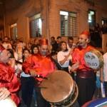 الجماهيري يحقق التفاف جماهيري واسع في مسيرة رمضان في حي المحاجنة