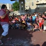 الجماهيري ينظم مسابقات وفعاليات ترفيهية لأهالي حي الخلايل والبراغلة