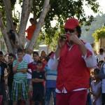 الجماهيري نظم مسابقات وفعاليات ترفيهية في حي المعلقة