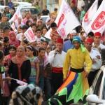 المركز الجماهيري وشركة حلاوة الهلال ينظمون مسيرات رمضانية خلال شهر رمضان المبارك