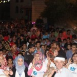 الجماهيري يختتم فعالياته داخل الأحياء بمسيرة رمضانية حافلة بحي عين جرار