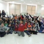 الجماهيري يفتتح مخيم الشتاء للطلاب بأجواء إحتفالية