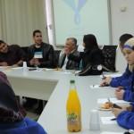 مجلس الطلاب البلدي بأم الفحم يستضيف وفد إدارة المجتمع والشباب