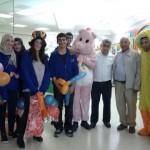 القيادة الشابة بالجماهيري في زيارة للأطفال في مستشفى شنايدر
