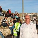 السيد عدنان عبد الهادي يشكر الجميع لمشاركتهم بالمظاهرة