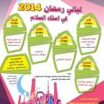 مهرجان ليالي رمضان 2014 في استاد السلام