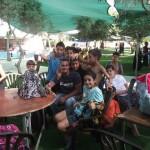 المخيم الصيفي في رحلة إستجمام إلى ملاهي التوت