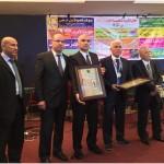 تكريم مدير المركز الجماهيري ام الفحم، شخصية عام 2014، في عرس وطني جمع أطياف الوطن العربي