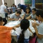 المركز الجماهيري يفتتح ثلاث دورات فنون لطلاب المرحلة الإبتدائية