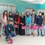 مجلس الطلاب البلدي يقوم بزيارات لعدد من المؤسسات