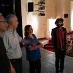 """الجماهيري يستضيف مدير مسرح """"السيرة"""" لمناقشة أعمال مشتركة مستقبلية"""