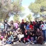 الجماهيري يختتم مخيماً  لطالبات المرحلة الثانوية وأمهاتهن