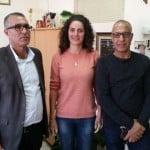 مدير المسرح ونائب رئيس البلدية في زيارة لوزارة الثقافة لدعم المسيرة الفنية