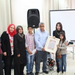 الجماهيري يستقبل وفداً من جمعية أنوش ويكرم مديرة الجمعية أريج يحيى