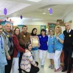 الجماهيري ينظم زيارات للأطفال المرضى في مستشفى شنايدر