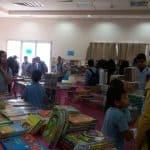 في يومه الثالث – معرض الكتاب يستقبل المئات من الزوار يومياً