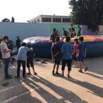 """فعاليات """"حفلة بحارتنا"""" في ملعب مدرسة عمر بن الخطاب"""