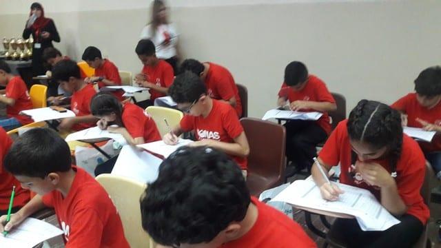 طلاب الجماهيري يشاركون في مسابقة الأباكس الثالثة ويتربعون على المرتبة الأولى