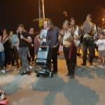 الجماهيري ينظم مسيرة رمضانية حافلة في حي البيار
