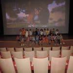 مسرح وسينماتك أم الفحم يستضيف مجموعات من طلاب البساتين بالمدينة