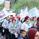 مسيرة رمضانية حاشدة نظمها قسم الشبيبة بالجماهيري