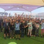الجماهيري ينظم فعاليات وعروض وبرامج متنوعة لمخيم الروضات والبساتين في مدارس المدينة