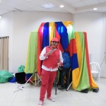 عمو خميس يتحف طلاب مخيم الشتاء بفعاليات ترفيهية