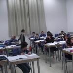 طلاب صفوف الثالث من الموهوبين بالمركز الجماهيري يستعدون لإمتحان الوزارة
