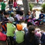 مخيم الربيع 2013 في رحلة لحدائق الأم في حيفا