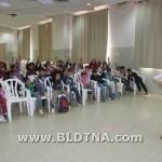 طلاب الجماهيري يتفاعلون مع فعاليّات مجمع اللّغة العربيّة - حيفا