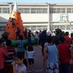 """الجماهيري يواصل في فعاليات """"نرسم البسمة على وجوه الأطفال"""" في أحياء المدينة"""