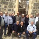 مجموعة الرواية الفلسطينية بالجماهيري في زيارة لمنطقة بيسان