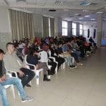 """محاضرة """"القيادة في الإسلام"""" بالجماهيري وتكريم د. حاتم محمد محاميد"""