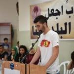 مؤتمر صحفي لنبذ العنف لمجموعات القيادة الشبابية بالجماهيري