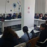 الجماهيري يستضيف طالبات خديجة الإعدادية ضمن برنامج إستضافة المدارس